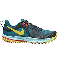 Nike Air Zoom Wildhorse 5 - Laufschuhe Trailrunning - Damen, Light Blue/Yellow