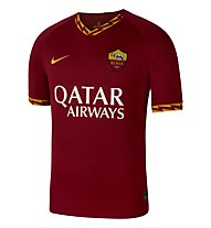 Nike AS Roma Stadium Home Jersey - Fußballtrikot - Herren, Red/Gold