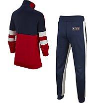 Nike Air Boys' Tracksuit - Trainingsanzug - Kinder, Red/White/Blue