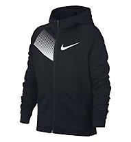 Nike Dry Training Hoodie Boys' - giacca fitness - ragazzo, Black