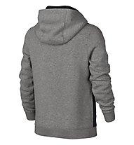 Nike Boys' Nike Sportswear Hoodie - Kinder-Pullover, Dark Grey