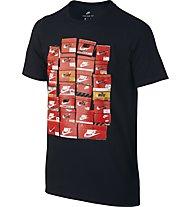 Nike Sportswear - T Shirt - Kinder, Black