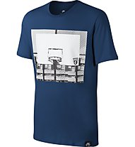 Nike Basketball Hoop - Fitness T-Shirt - Herren, Blue