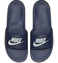 Nike Benassi - Sandalen - Herren, Blue/White