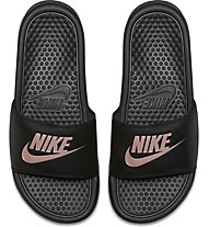 Nike Benassi - sandalo - donna, Black/Rose