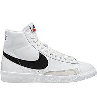 Nike Blazer Mid - Sneakers - Kinder, White/Black