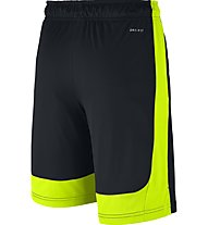 Nike Boys' Nike Dry Training Short - kurze Jungenhose, Black/Volt