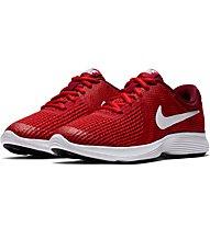 Nike Revolution 4 (GS) - scarpe running neutre - ragazzo, Red