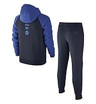 Nike Boys' Sportswear Warm-Up Track Suit - Trainingsanzug Jungen, Blue