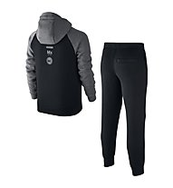 Nike Boys Sportswear Warm-Up Track Suit Tuta da ginnastica ragazzo, Black