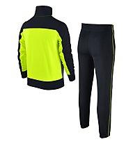 Nike Boys' Sportswear Warm-Up Track Suit - Trainingsanzug Jungen, Black/Yellow