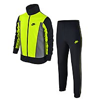 Nike Boys' Sportswear Warm-Up Track Suit - Trainingsanzug Jungen, Black/Yellow