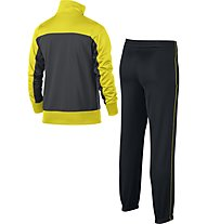Nike Boys' Sportswear Warm-Up Track Suit - Trainingsanzug Jungen, Grey