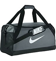 Nike Brasilia (Medium) - Sporttasche, Grey/Black/White
