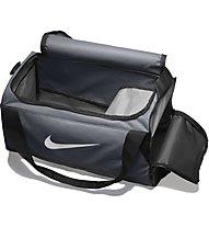 Nike Brasilia (Small) - Sporttasche, Grey/Black/White