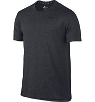 Nike Breathe - T Shirt - Herren, Black/Anthracite