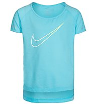 Nike Breathe City Running - Fitness-T-Shirt - Mädchen, Blue