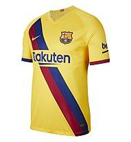 Nike Breathe FC Barcelona Stadium Away Junior - Fußballtrikot - Jungen, Yellow