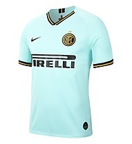 Nike Breathe Inter Milan Stadium Away - maglia calcio - uomo, Light Blue/Black