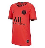 Nike Breathe Paris Saint-Germain Stadium Away Junior - maglia calcio - bambino, Red/Black