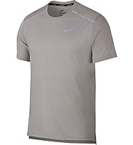 Nike Breathe Rise 365 - Laufshirt - Herren, Light Grey