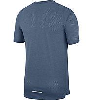 Nike Breathe Rise 365 - Laufshirt - Herren, Light Blue