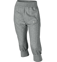 Nike Campus FT Loose Capri (YTH), Dk Grey Heather/SailDk