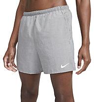 "Nike Challenger 5"" Brief-Line - kurze Laufhose - Herren, Light Grey"