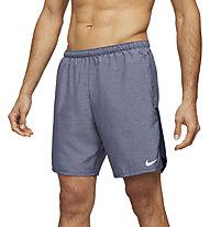 "Nike Challenger 7"" 2-In-1 Running - pantaloni corti running - uomo, Grey"