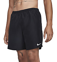 "Nike Challenger 7"" Brief-Line - kurze Laufhose - Herren, Black"