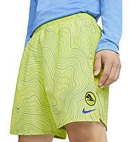 "Nike Challenger 7"" Brief-Lined Running - pantaloni corti running - uomo, Green"