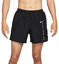 Nike Challenger Run Division - Runninghose kurz - Herren, Black