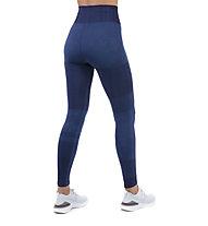 Nike City Ready Knit Training - pantaloni fitness - donna, Blue