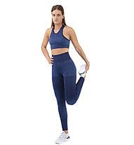 Nike City Ready Seamless - reggiseno sportivo a supporto medio - donna, Blue