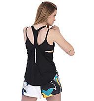 Nike City Sleek - top running - donna, Black