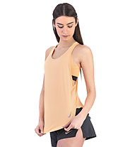 Nike City Sleek Tank - Lauftop - Damen, Orange