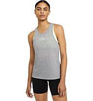Nike City Sleek Trail Running - Trailrunningtop- Damen, Grey