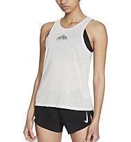 Nike City Sleek Trail Running - Trailrunningtop- Damen, Light Grey