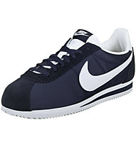 Nike Classic Cortez Nylon - Sneaker Turnschuh - Herren, Dark Blue/White