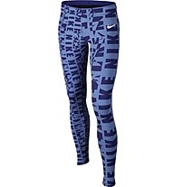 Nike Club Legging AOP Mädchen, Chalk Blue/Deep Night