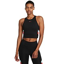 Nike Color-Block Stripe - Trainingstop - Damen, Black