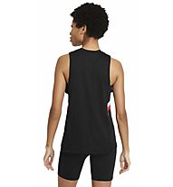 Nike Color Block Stripe - Trainingstop - Damen, Black