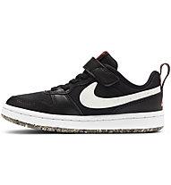 Nike Court Borough Low 2 - Sneaker - Kinder, Black