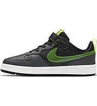 Nike Court Borough Low 2 - sneakers - bambino, Black/Green