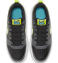 Nike Court Borough Low 2 - Sneaker - Kinder, Black/Green