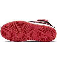 Nike Court Borough Mid 2 - sneakers - bambino, Black/Red