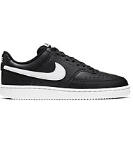 Nike Court Vision Low - Sneaker - Damen, Black/White