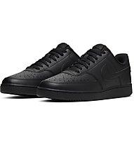 Nike Court Vision Low - Sneaker - Herren, Black