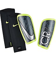 Nike CR7 Mercurial Lite Football Shin Guard Schienbeinschoner, Black