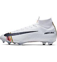 Nike CR7 Superfly 360 Elite FG - Fußballschuh, Platinum/Black/White